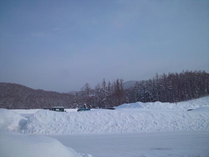 《あ〜北海道のパウダースノー》