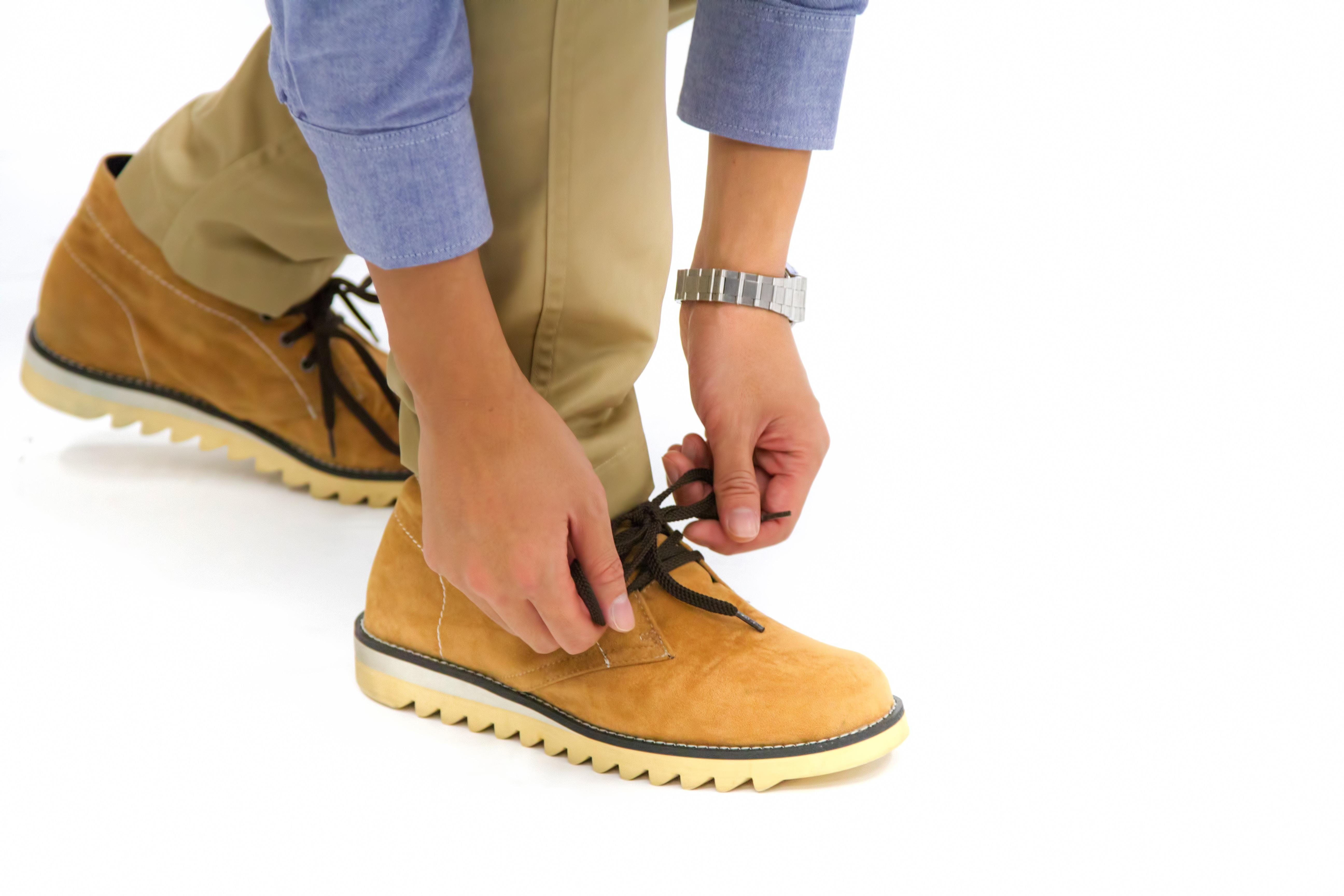 靴試し履き