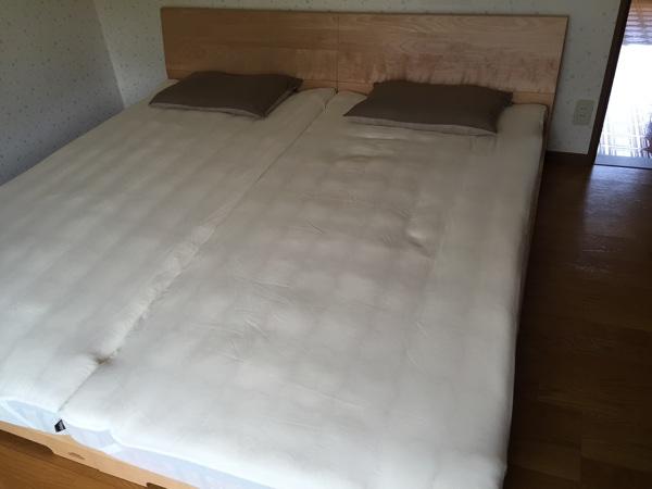 婚礼ベッド
