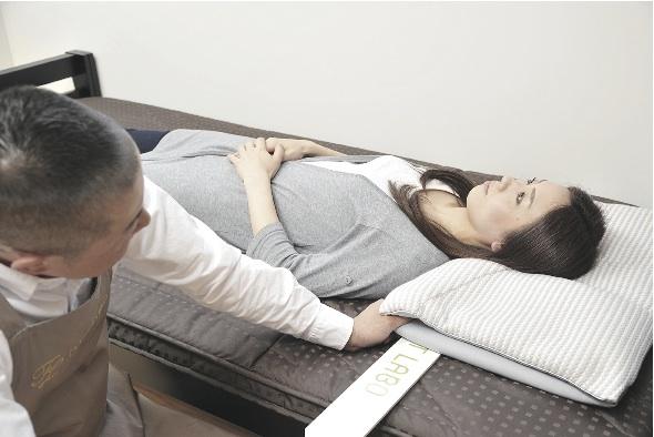 枕のフィッティング